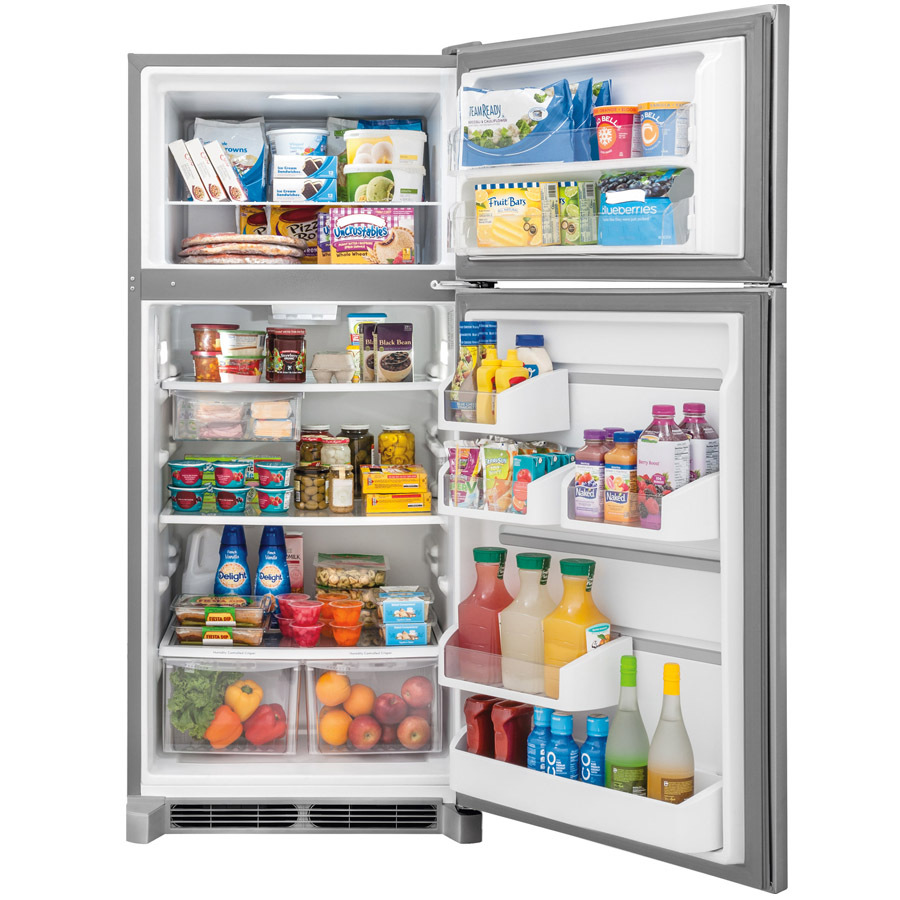 Inexpensive Stainless Steel Refrigerator