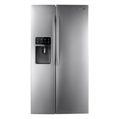 30 Cu Ft Side By Side Samsung Stainless Steel Refrigerator St