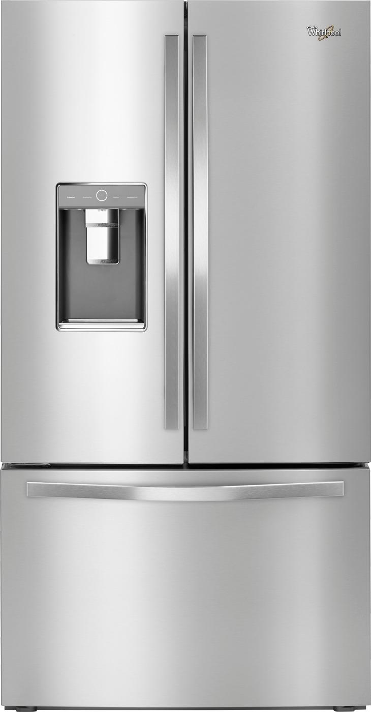 Whirlpool French Door Refrigerator Stainless Steel St