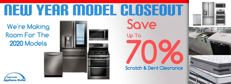 End Of Year Model Clearance Sale
