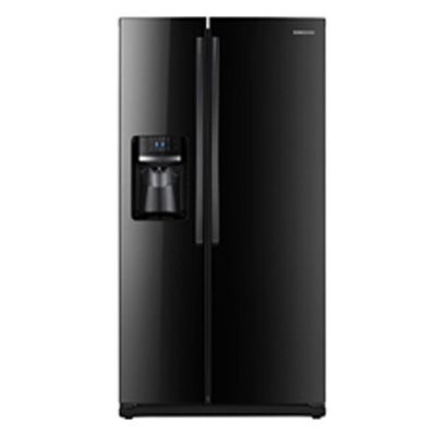 Samsung side by side refrigerator RS261MDBP/XAA