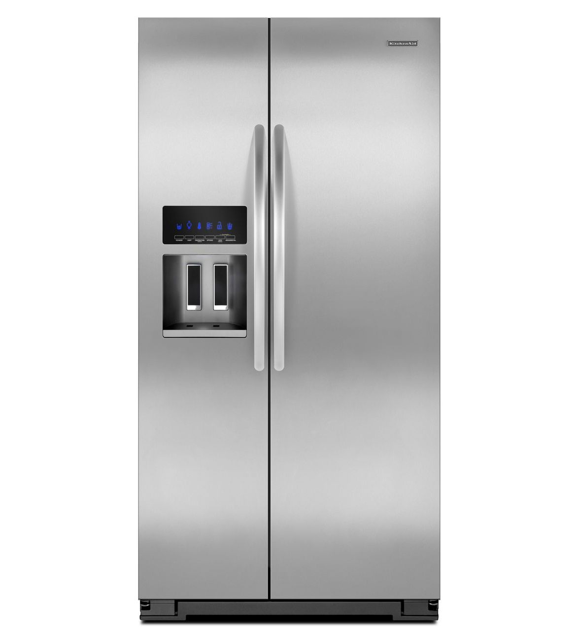 KitchenAid KSC24C8EYY Side by Side Stainless steel refrigerator