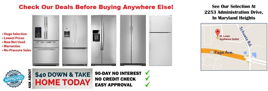 Wholesale Appliances Save 20 70 St Louis Appliance Outlet