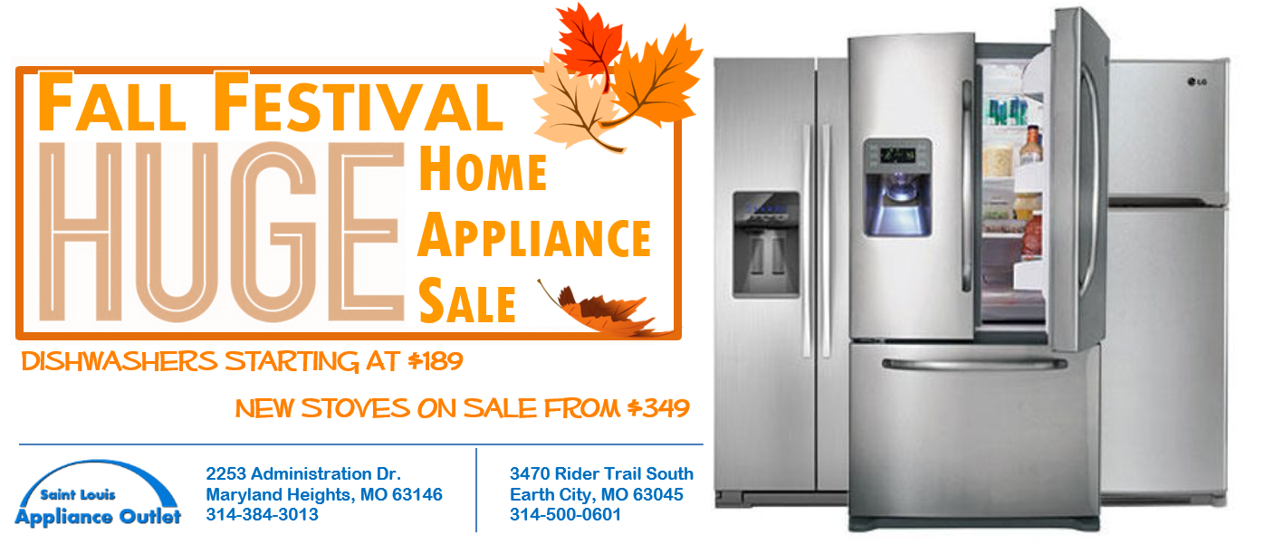 Fall Festival Home Appliance Sale