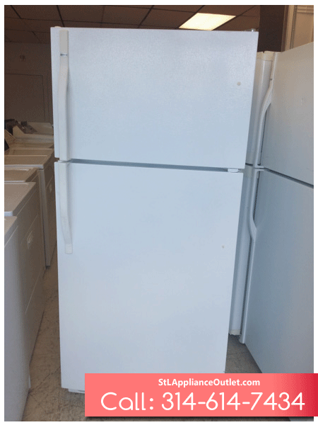 18 Cu Ft Top Freezer Refrigerator St Louis Appliance