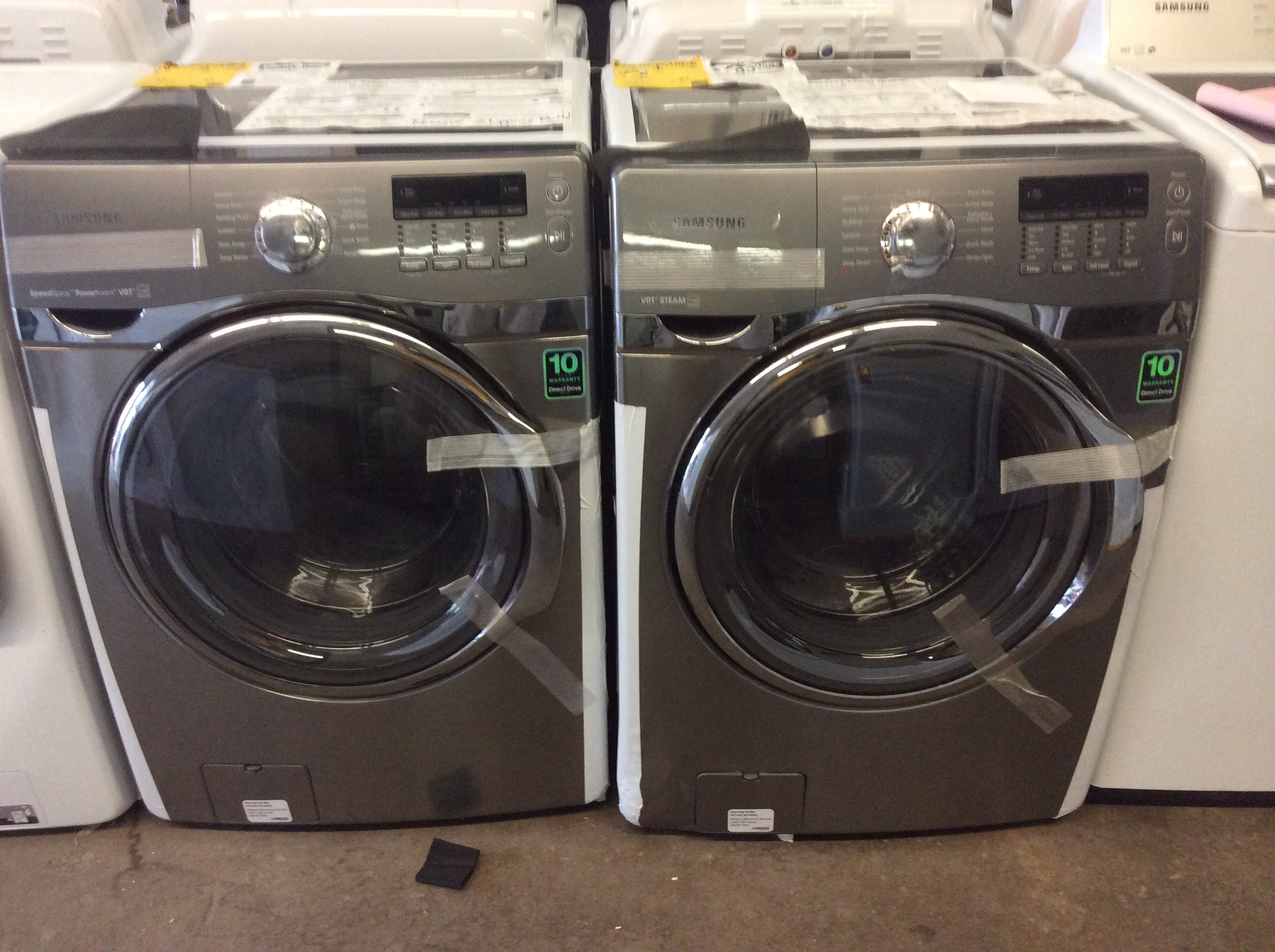 4 0 Cu Ft Front Load Washer With Vtr St Louis
