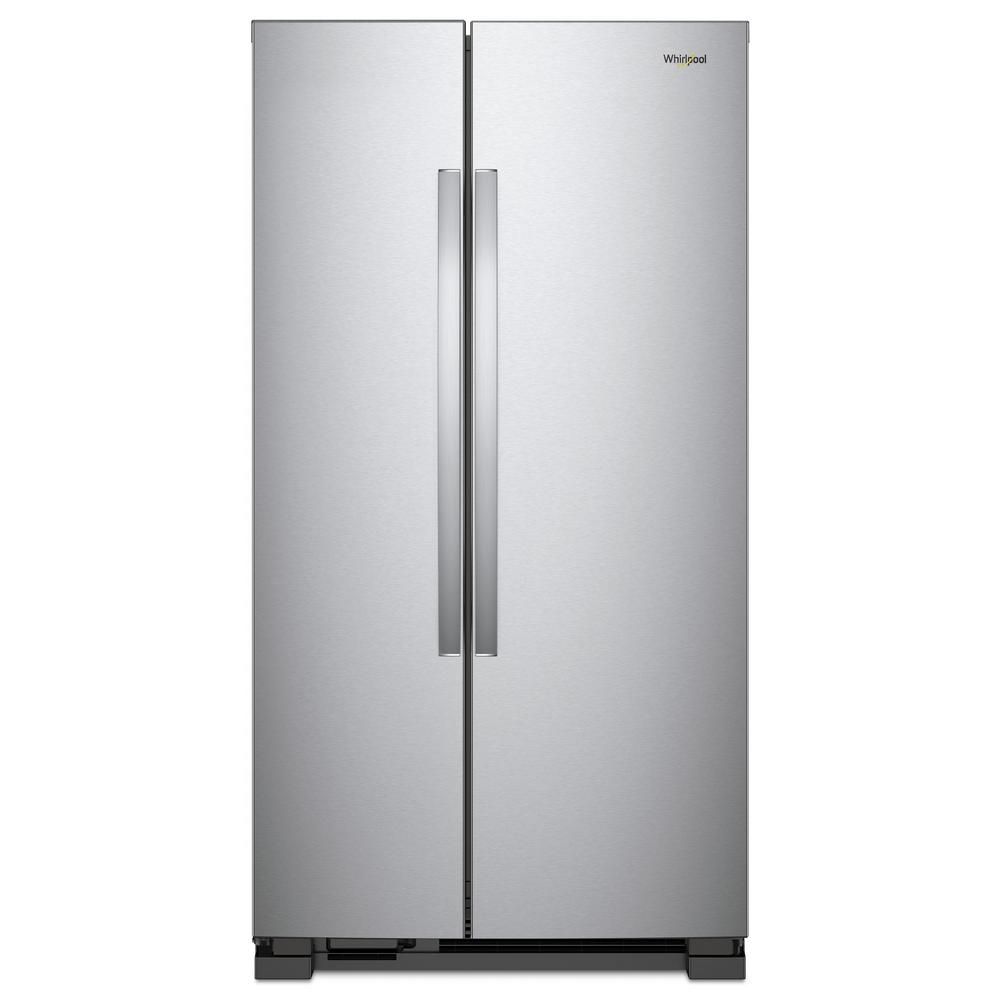 Whirlpool Side By Side Refrigerator Monochromatic