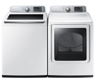 Samsung Washer And Dryer Set Top Load Smartcare Wa50m7450a