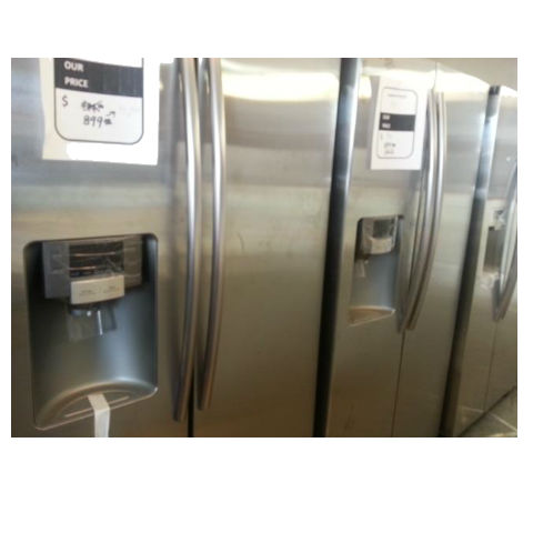 Discount Side by Side refrigerators at St. Louis Appliance Outlet