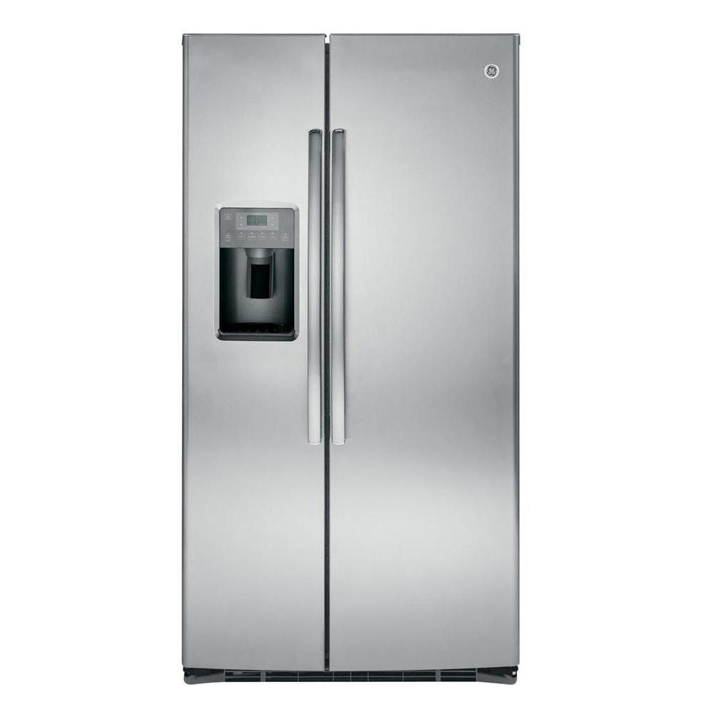 Ge Side By Side Refrigerator 35 7 Quot 25 4 Cu Ft