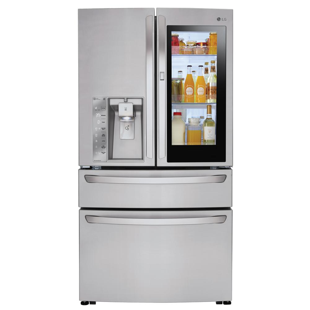 Lg French Door Refrigerator 357 297 Cu Ft Stainless Steel