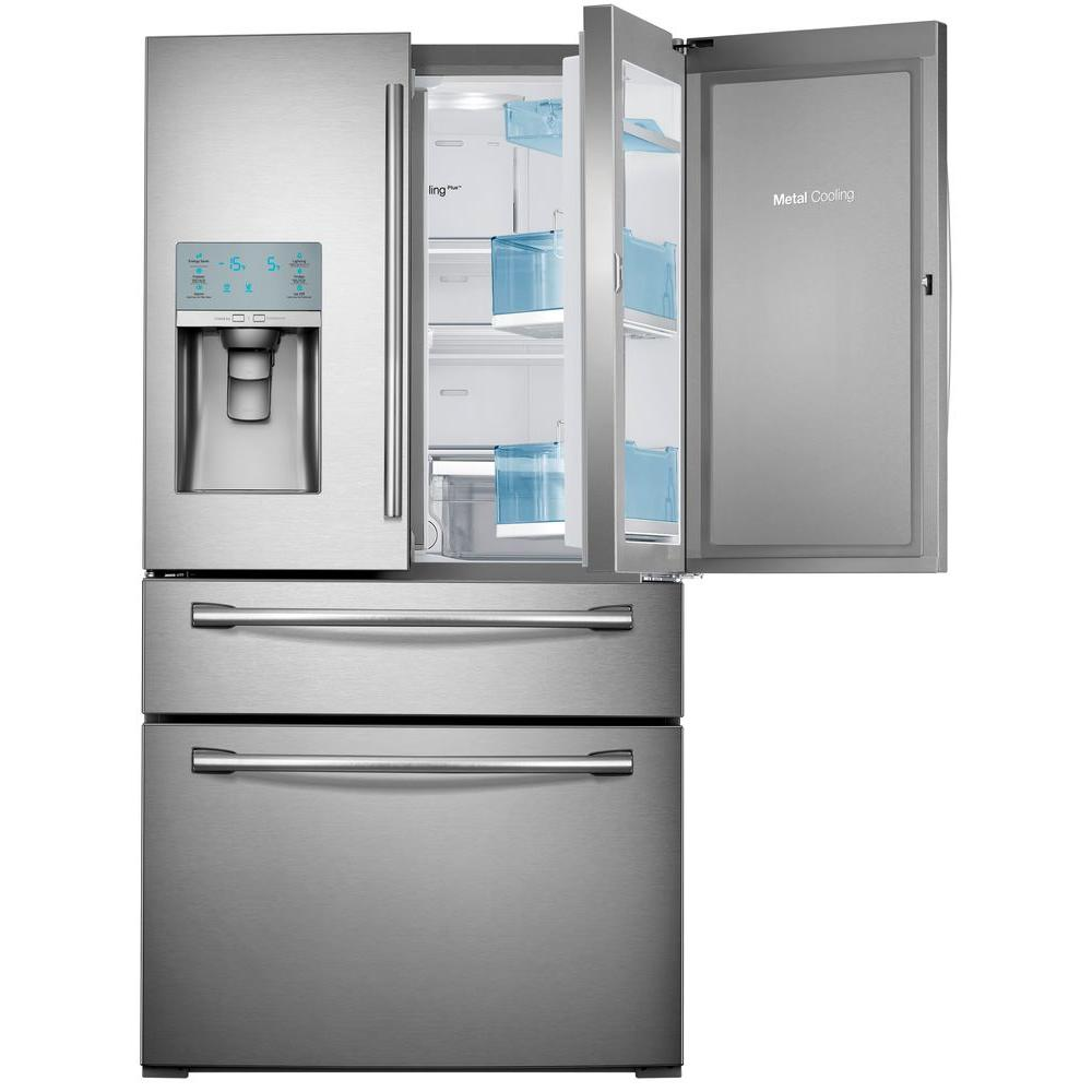 Samsung French Door Refrigerator 357 295 Cu Ft Stainless