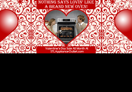 Best Valentine's Day Gift Ever! Sale at St. Louis Appliance Outlet