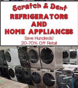 Scratch And Dent Home Appliances - Buy Cheap Save Hundreds