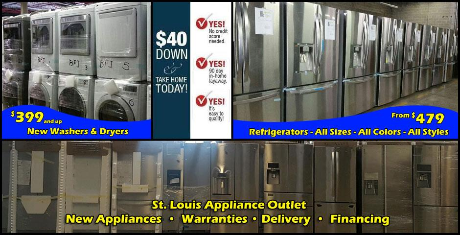 Discount Appliance Store New And Used Appliances In St