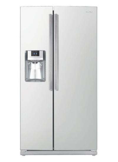Samsung side by side refrigerator white