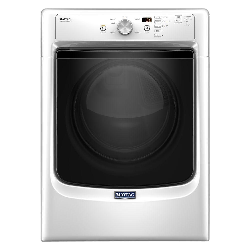 MAYTAG LARGE CAPACITY DRYER WITH WRINKLE PREVENT OPTION